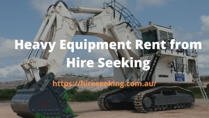 Heavy Equipment from Hire SeekingHeavy Equipment from Hire Seeking