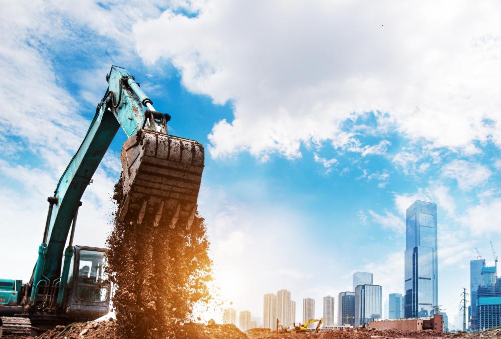 Renting Equipment Excavator